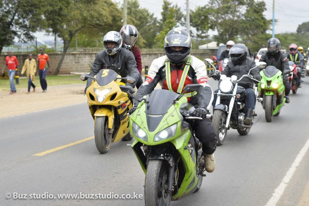 kenyan biker